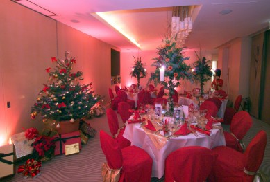 Traditional Christmas Theme Party