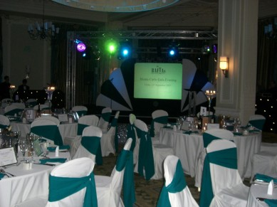 Corporate Events: Monte Carlo Conference Set