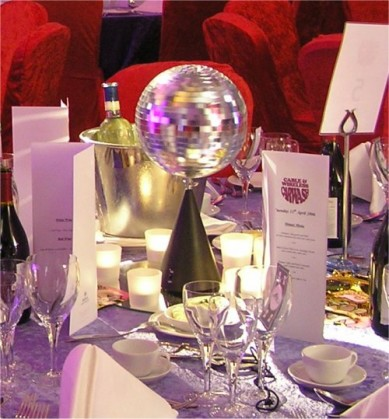Table Centre: Mirror Ball Centrepiece