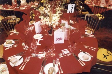 Table theme setting