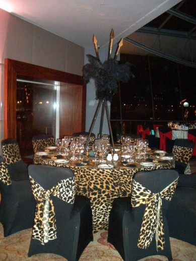 African table theme