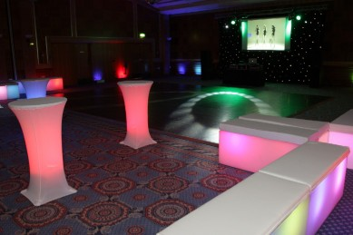 LED Poseur Tables