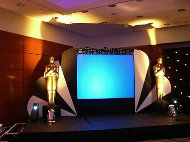 Corporate Events: Hollywood Conference Set